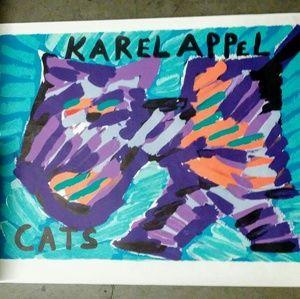 Vintage Karel Appel lithograph